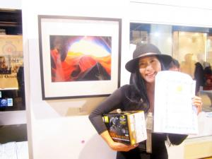 Accepted Nicon UK prize n London world art competition